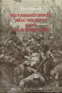 Rosja w propagandzie niemieckiej - okładka książki