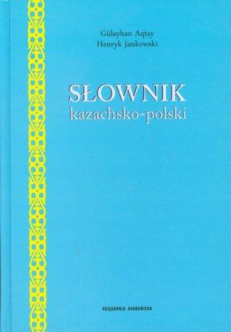 Słownik kazachsko polski - okładka podręcznika