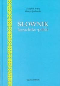 Słownik kazachsko polski - okładka książki