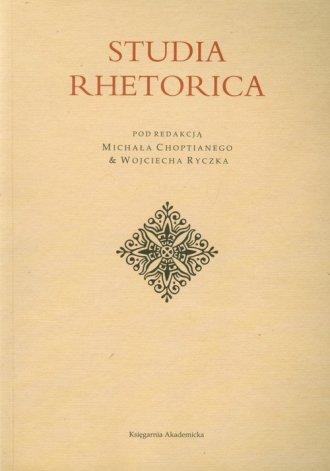 Studia Rhetorica - okładka książki