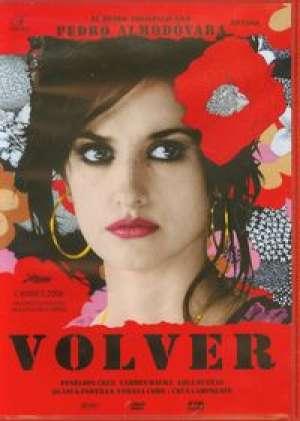 Volver DVD - okładka książki