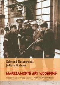 Warszawskie gry wojenne - okładka książki