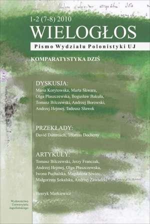 Wielogłos. Pismo Wydziału Polonistyki - okładka książki