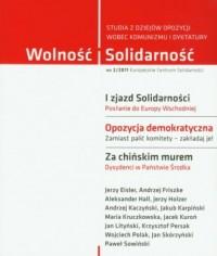Wolność i Solidarność 2/2011. Studia z dziejów opozycji wobec komunizmu i dyktatury - okładka książki