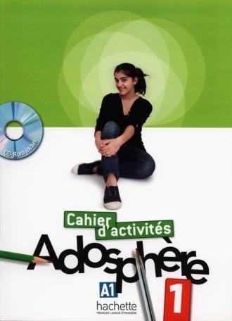 Adosphere 1 zeszyt ćwiczeń (+ CD) - okładka podręcznika