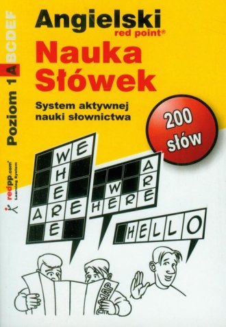 Angielski. Nauka słówek. Poziom - okładka podręcznika