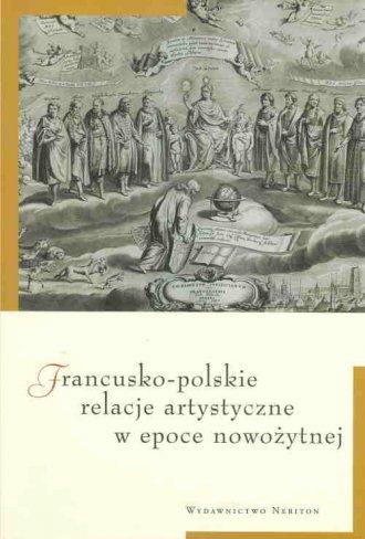 Francusko-polskie relacje artystyczne - okładka książki