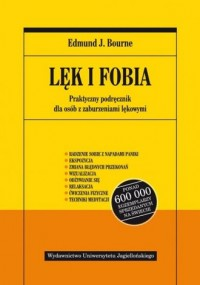 Lęk i fobia - okładka książki