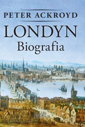 Londyn. Biografia - okładka książki