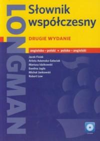 Longman. Słownik współczesny angielsko-polski, polsko-angielski (+ CD) - okładka książki
