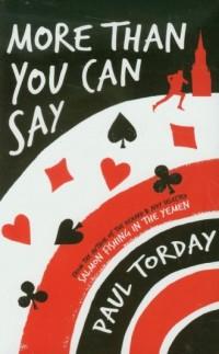 More Than You Can Say - okładka książki