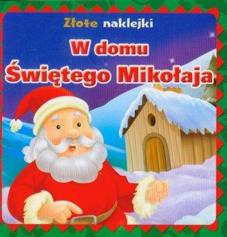 W domu Świętego Mikołaja. Złote - okładka książki