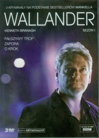 Wallander sezon I (DVD) - okładka filmu