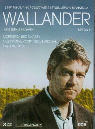 Wallander sezon II (DVD) - okładka filmu