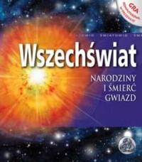 Wszechświat Narodziny i śmierć gwiazd - okładka książki