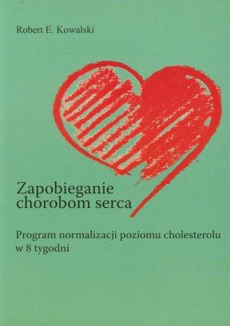 Zapobieganie chorobom serca - okładka książki