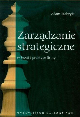 Zarządzanie strategiczne w teorii - okładka książki