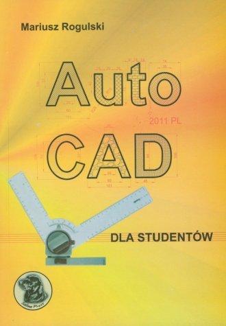 AutoCAD dla studentów - okładka książki