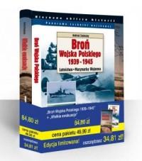 Broń Wojska Polskiego 1939-1945 / Lotnictwo i Marynarka Wojenna / Wielkie ewakuacje. PAKIET - okładka książki