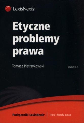 Etyczne problemy prawa - okładka książki