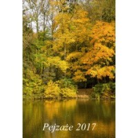 Kalendarz 2017. Pejzaże - okładka książki