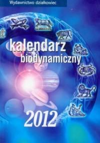 Kalendarz biodynamiczny 2012 - okładka książki