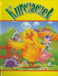 Kurczaczek. Rozkładanki - okładka książki