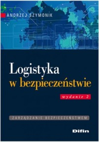 Logistyka w bezpieczeństwie - okładka książki