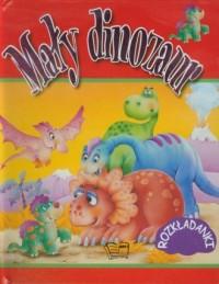Mały dinozaur. Rozkładanki - okładka książki