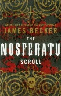 Nosferatu Scroll - okładka książki