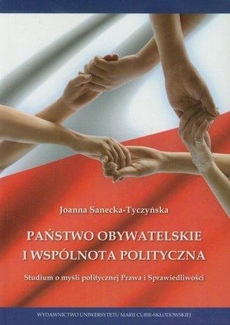 Państwo obywatelskie i wspólnota - okładka książki