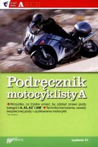 Podręcznik motocyklisty kat. A - okładka książki