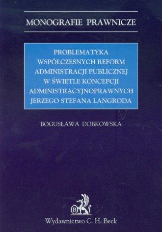 Problematyka współczesnych reform - okładka książki