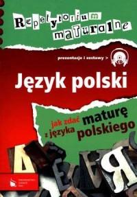 Repetytorium maturalne. Język polski (CD) - okładka podręcznika