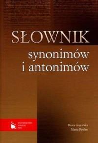 Słownik synonimów i antonimów - okładka książki