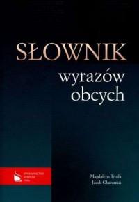 Słownik wyrazów obcych - okładka książki