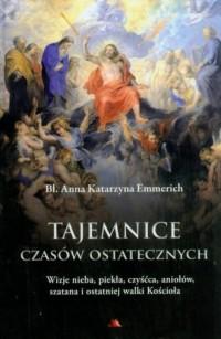 Tajemnice czasów ostatecznych. Wizje nieba, piekła, czyśćca, aniołów, szatana i ostatniej walki Kościoła - okładka książki