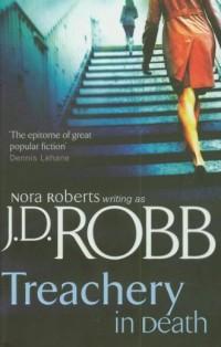 Treachery in Death - okładka książki