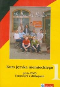 Treffpunkt Berlin 1. Kurs języka niemieckiego (DVD) - pudełko programu