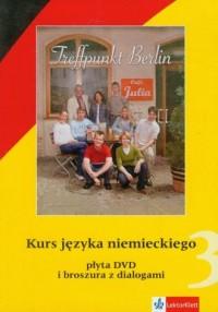 Treffpunkt Berlin 3. Kurs języka niemieckiego (DVD) - pudełko programu