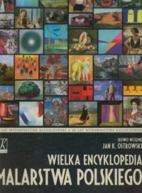 Wielka encyklopedia malarstwa polskiego - okładka książki