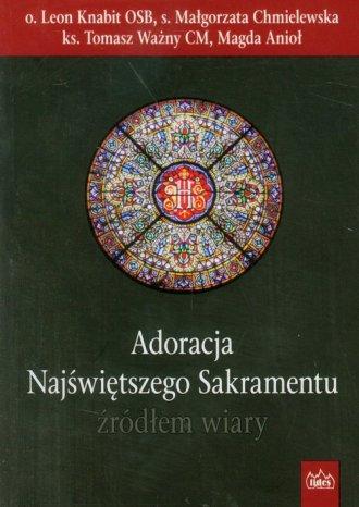 Adoracja Najświętszego Sakramentu - okładka książki