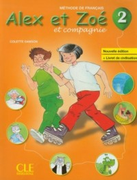 Alex et Zoe 2. Podręcznik (+ CD) - okładka podręcznika
