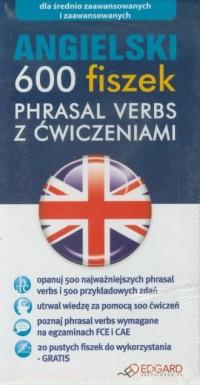 Angielski. 600 fiszek. Phrasal - okładka podręcznika