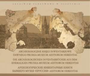 Archeologiczne księgi inwentarzowe - okładka książki
