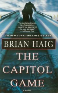 Capitol Game - Brian Haig - okładka książki
