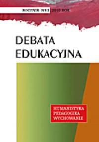 Debata Edukacyjna nr 3. Humanistyka - okładka książki