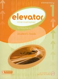 Elevator international elementary 1 (+ CD) - okładka książki