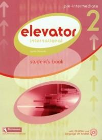 Elevator international pre-intermediate 2 (+ CD) - okładka książki