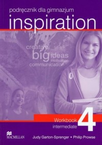 Inspiration 4. Ćwiczenia - Judy - okładka podręcznika